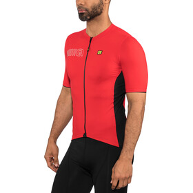 Alé Cycling Solid Color Block SS Jersey Herre red